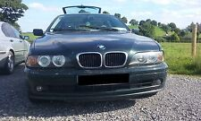 BMW E39 520i 2002 TOURING M54 ENGINE O/S RIGHT N/S LEFT BREAKING OXFORD GREEN