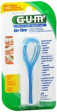 GUM Eez-Thru Floss Threaders 840 25 each -- 3 PACK