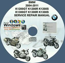BMW K1200GT K1200R K1200S K1300GT K1300R K1300S KSERVICE REPAIR MANUAL ON DVD