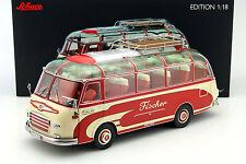 Setra s6 pescadores autobús chocó rojo/beige 1:18 Roadster