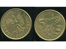 POLOGNE 5 groszy  2007  ( bis )