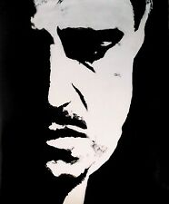 Godfather Corleone 30x20 Oil Painting,NOT a print, scarface goodfellas unframed
