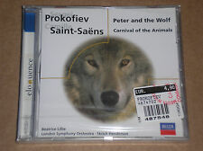 PROKOFIEV - PETER AND THE WOLF / SAINT SAENS - CARNIVAL - CD SIGILLATO (SEALED)