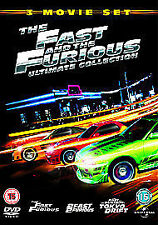 The Fast And The Furious Collection 1-3 (Box Set) - DVD