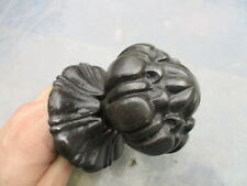 Victorian Iron Centre Door Knob Handle Pull A.K&Sons Architectural Antique Old