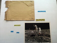 MAN ON THE MOON VINTAGE JUMBO ORIGINAL PHOTO NASA MTV USED SIMILAR PICTURE FOR