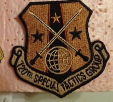 USAF FLIGHT SUIT PATCH, 720TH SPECIAL TACTICS GROUP, DESERT