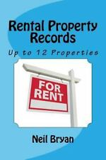 Rental Property Records Book: A complete annual record  for up to 12 rental