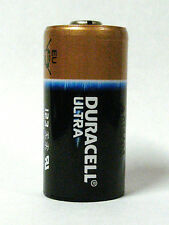 12 - Duracell Ultra 123 CR123A Lithium 3v Battery - dated 2023 - Made in USA !!