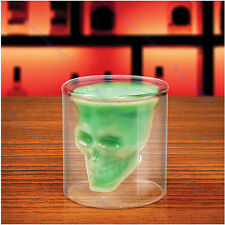 Creative 75ml Crystal Skull Head Vodka Wine Cup Mug Party Gift Clear Shot Glass
