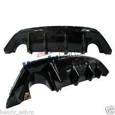 New! GENUINE FORD FOCUS RS MK2 REAR BUMPER DIFFUSER 1602999 GLOSS BLACK