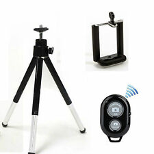 Rotatable Stand Tripod +Holder Bracket+ Bluetooth Remote Shutter for iPhone 6 5S