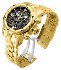 Invicta Venom Chronograph 52mm Gold-plated Stainless Steel Men Watch 17634