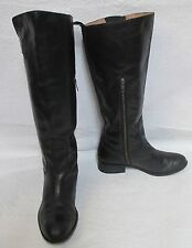 """Women's Spirit by Lucchese """"Bailey"""" Black Riding Equestrian Boots Sz 8 M"""