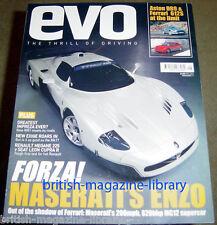Evo Magazine Issue 67 - Ferrari 612 Scaglietti Maserati MC12 Aston Martin DB9