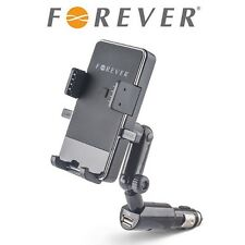 MOBILE PHONE CAR HOLDER MOUNT HQ in Cigarette Lighter USB ANDROID IPHONE UH-100