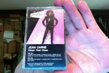 Jean Carne- Closer Than Close- 1986- new/sealed cassette tape
