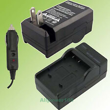 Battery Charger fit VW-VBG130 Panasonic SDR-H60 SDR-H40 Rechargeable NEW + CAR
