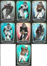 2014 BOWMAN ROOKIE RAINBOW BLACK BORDER NICE (7) CARD LOT FREE COMBINE S/H