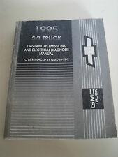 1995 Chevy GMC S/T Truck Shop Service Manual Driveability Emissions Electrical