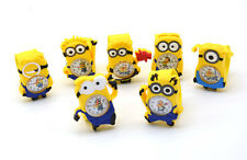 Despicable Me minion Cartoon 3D Eye watch for kids children girls boys