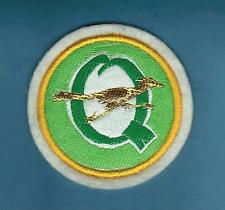 "VINTAGE ""Q"" ROADRUNNER GOLF PATCH SOUVENIR NEW & UNUSED"