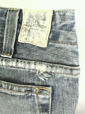 Ralph Lauren Blue Label  Womens Distressed / Stained Denim Jean Sz 27 USA Cool!!