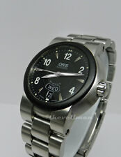 Men's Authentic Swiss Made Oris TT1 Day Date 25 Jewel Automatic Watch 42mm