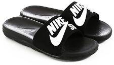 Nike SB Benassi SolarSoft Slides Sandal Black White Sz Mens 10 840067-001 slide
