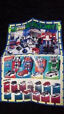 diaclone g1 pre transformers Optimus prime battle convoy instructions