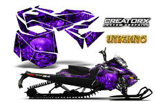 SKI-DOO REV XM SUMMIT SNOWMOBILE SLED GRAPHICS KIT WRAP CREATORX INFERNO PR