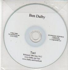 (DG34) Ben Dalby, Tact - DJ CD