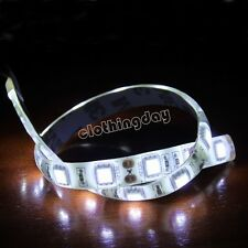 White LED strip lighting modding PC Case 30cm 18 led long with molex connector