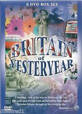 Britain of Yesteryear (DVD, 2010, 8-Disc Set, Box Set) App 8 Hour  -- NEW SEALED