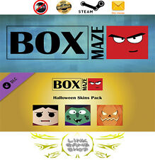 Box Maze - Halloween Edition + Halloween Skin PC Digital STEAM KEY - Region Free