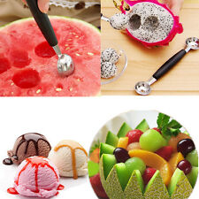 Kitchen Craft Double Ended Stainless Melon Ball Maker Baller Parisienne Scoop 80