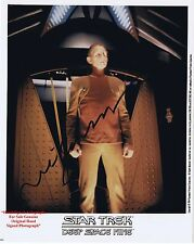 René Auberjonois  American Actor   MASH and Star Trek   HAND SIGNED Colour Photo
