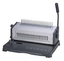 New Heavy Duty Cerlox Comb Binding Machine,Comb Cerlox Binder,Metal Based 25/580