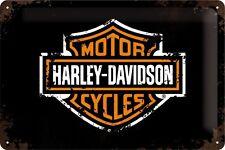 Nostalgic-Art - Blechschild - 20 x 30 cm - Harley-Davidson - Paint Logo