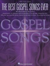 The Best Gospel Songs Ever Sheet Music Piano Vocal Guitar SongBook NEW 000310503