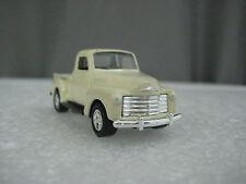 "3"" Welly 1953 Chevrolet 3100 PickUp Truck 1:60 Diecast Toy Car  Cream White"