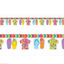 Flip Flop Flower Garland Summer Beach Birthday Party Decorations ~Fun in The Sun
