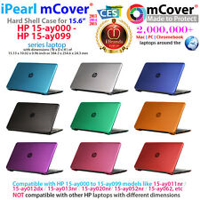 "NEW mCover® Hard Shell Case for 15.6"" HP 15-ay000 - 15-ay099 series laptop"