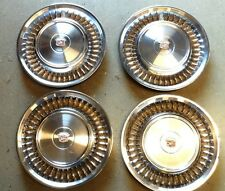 1971 1972  Cadillac Wheel Covers Hubcaps Set of 4