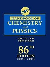 CRC Handbook of Chemistry and Physics, 86th Edition-ExLibrary
