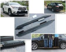 US design fit Toyota Highlander Kluger 2014-17 side step running board Nerf bar
