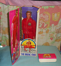 vintage Six Million Dollar Man THE BIONIC MAN Steve Austin in box