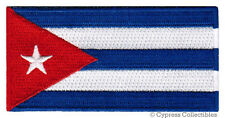 CUBA FLAG embroidered iron-on PATCH CUBAN ISLAND EMBLEM FIDEL CASTRO applique