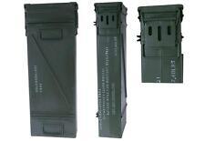 US Boîte de munitions Taille. 6 couleur olive USé Caisse de stockage