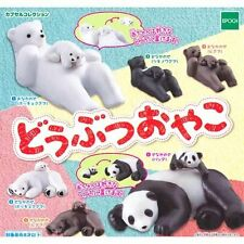 Animal Parent And Child 6 Pics Set Capsule Toys Gashapon From Japan